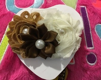 Shabby Chic Headband/Hair Bow
