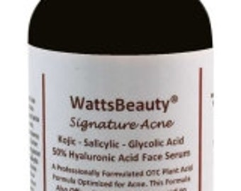 Watts Beauty Blemish Serum with Hyaluronic Acid - Works Wonders on Young or Aging Skin  - Perfect for Blemishes, Scars, Dull Skin & More