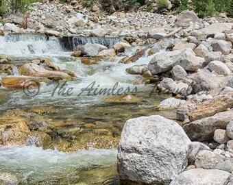 Rocky Mountain Stream Colorado