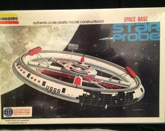 Linberg Star Probe Space Base Rare--1976