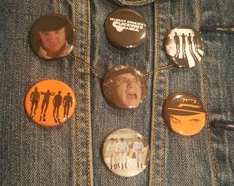 A Clockwork Orange Buttons Pins Magnets 1.25 inch
