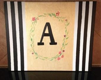 Monogrammed Child's Letter [Room Decoration]