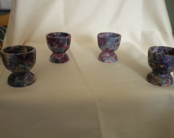 hand decopatch egg cups