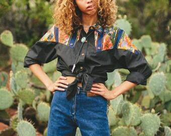 Black Cactus Shirt