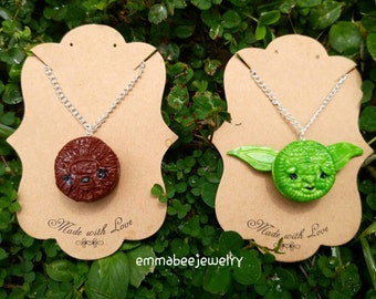 Star Wars Oreo Charm Necklaces
