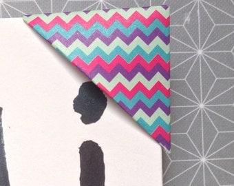 Bookmark / mark square triangle x 4