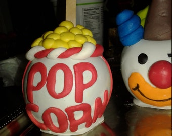 Carnival Circus Ringmaster Themed Candy Apples