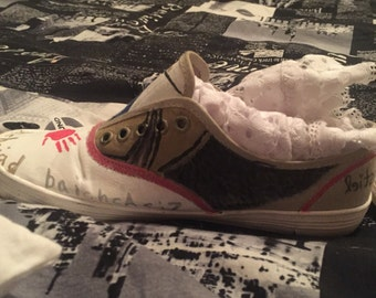 Customizable Hand Painted Fandom Shoes