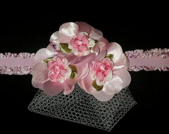 Pink elegant headband