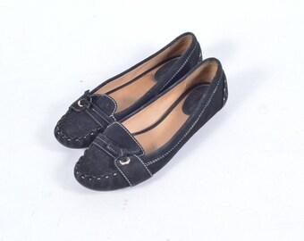 Vintage black Kate Spade size 6 moccasins/shoes/flats/slip ons