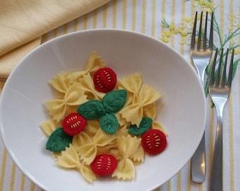 Pasta type felt butterflies