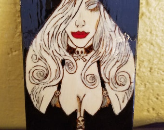 Lady Death art