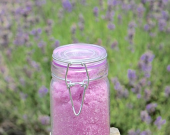Lavender-Lemon Sugar Scrub