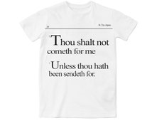 Popular Items For Thou Shalt Not On Etsy