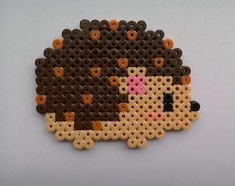 Hama Bead Hedgehog Magnet