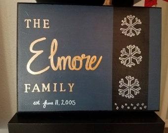 Modern Family Plaque