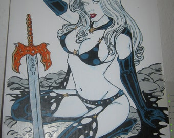 Lady death Figure 6