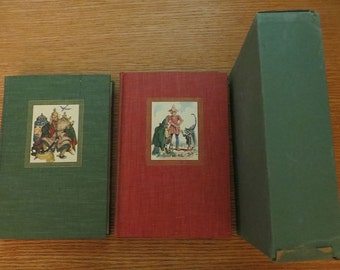 Andersen's Fairy Tales and Grimm's Fairy Tales - 2 book set, 1945