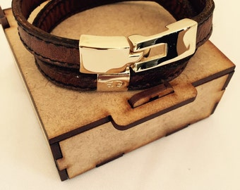 Handmade Leather Brown strap
