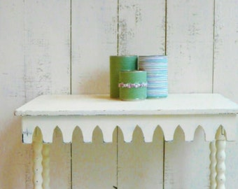 3 decorative tin cans