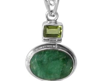 Jewellery, Silver Jewellery, Emerald Jewelry, Peridot Jewelry, Handmade Jewelry, Green