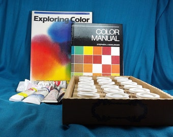 Artist Oil Paint Mixing Kit and Art Color Books