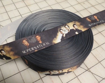 Supernatural Grosgrain Ribbon