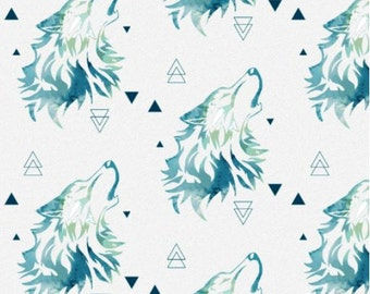 Wolf Crib Bedding Etsy