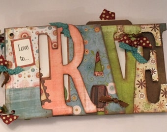 Travel Chipboard Word Book