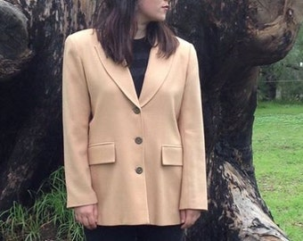 Cybelle 100% vintage wool blazer