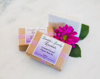 Lavender Oatmeal Organic Body Bar