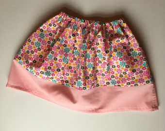 Girls floral banded Skirt