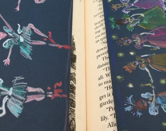 Dancing Princesses & The Red Shoes Bookmarks, set of two