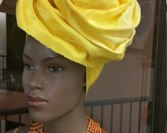 how to make gele hat