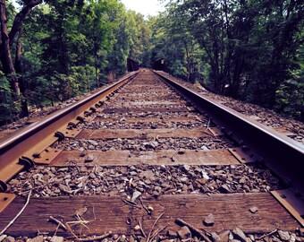 Walking The Rails: Train Tracks