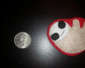 Felt Sloth Pin