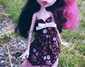 Custom Monster high Draculaura doll