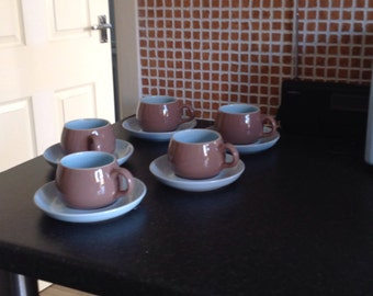 Denby cup and saucers
