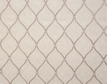 Drapery/Upholstery Home Decor Emroidered Fabric Adonis Calm by the Yard