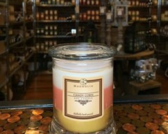 Candy Corn Soy Candle
