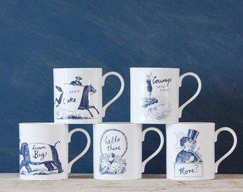 Sideshow Vintage Inspired Mugs