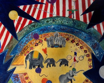SALE - all circus paintings