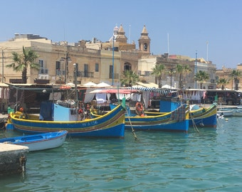 Maltese Fishing Village