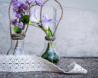 Floral Hanging Bulbs Set Of Three