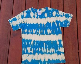 Tye dye bleached t-shirt