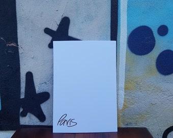 FOIL PRINT | PARIS