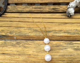 Pearl Triple Threat Necklace