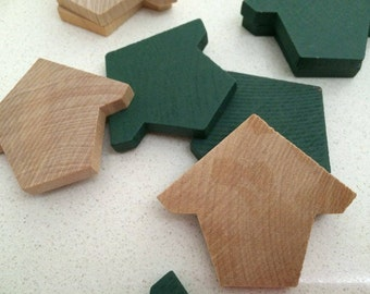 Bird House Wooden Cutouts Mini x50