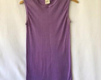 Soft purple vintage e'spirit tank