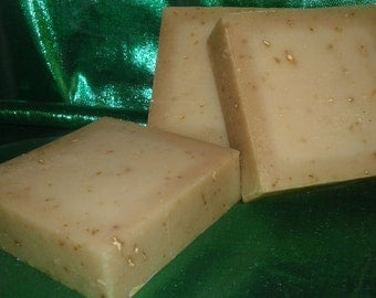 Oatmeal,  Milk, & Honey Cold Process Soap